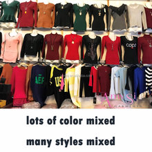 2.2 USD WY002 2018 new arrivals pullover short wool woman woolen long designs sweater for ladies women many designs mixed