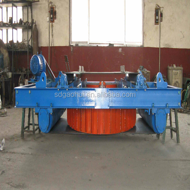 Series RCDD Self-Cleaning Electric Magnetic Tramp iron Separator for iron ore mining processing
