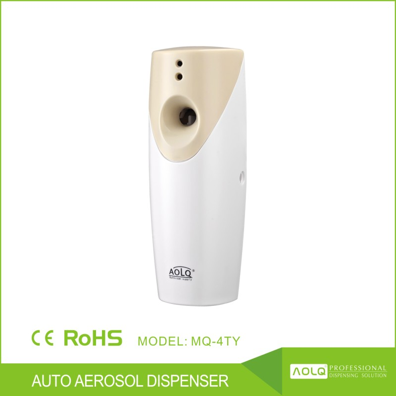 bathroom wall mounted air freshener dispenser, spray aroma scent machine,plastic aerosol dispenser
