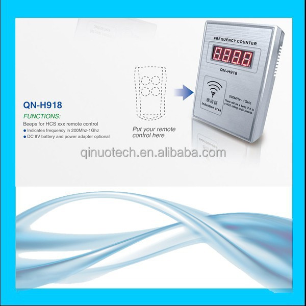 QN-H918 convenient small digital frequency meter for remote controls
