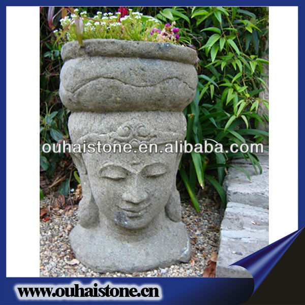 Roma Granite Bust Woman Head Stone Statues