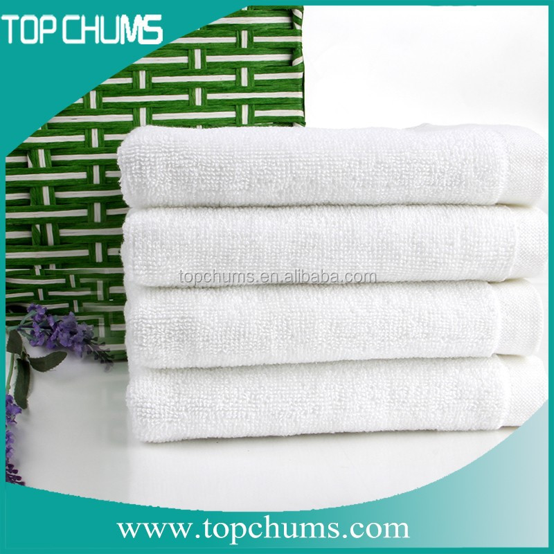 Luxury Five Star Hotel Face Towel 100% Cotton With Customized Logo