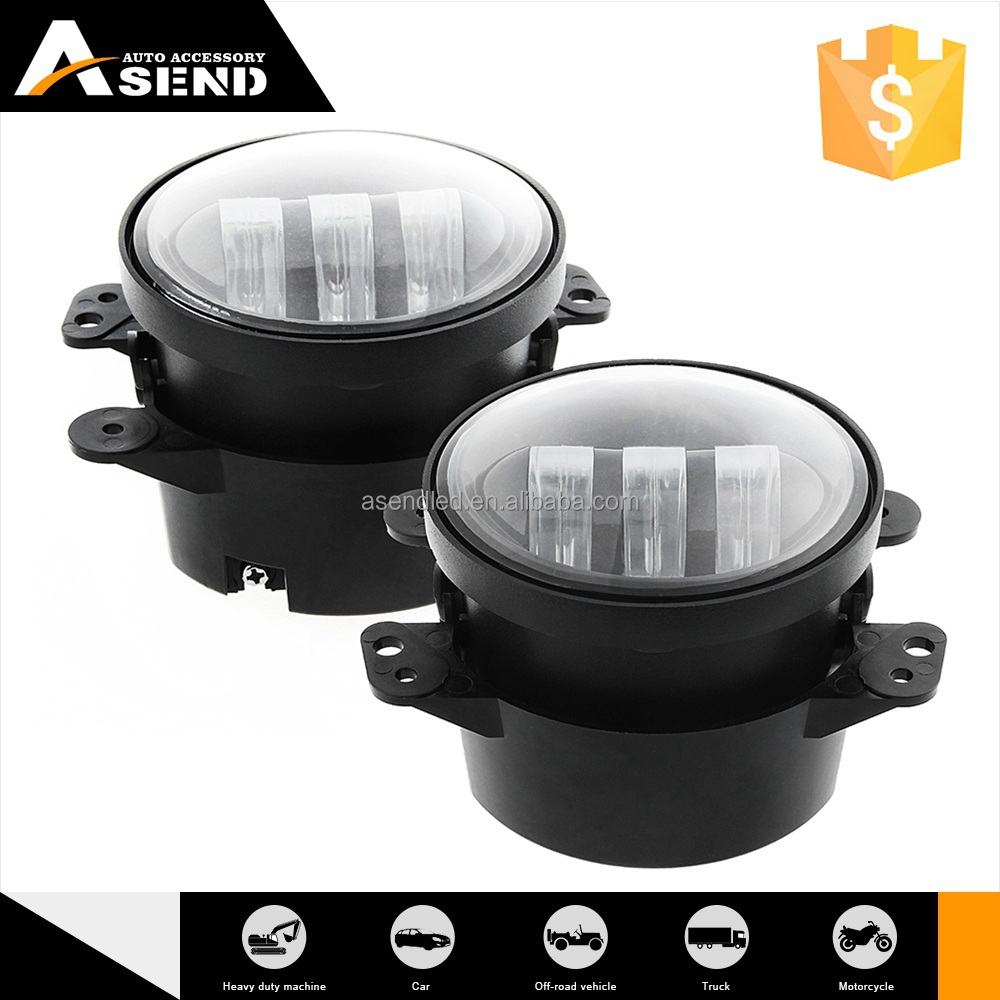 Hot Sell Quick Lead Oem Production 4inch led Fog Lamps for jeep