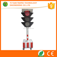 electronic wireless controller flashing solar powered led signal traffic light