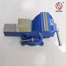 China Producers of 83 Type Heavy Duty Bench Vices with Anvil Stationary Base