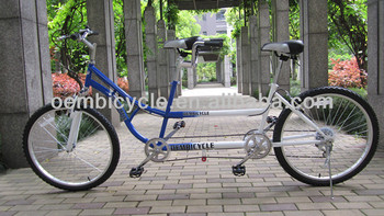 26 inch 7 speed tandem bike for two people