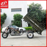 150cc Air Cooled Engine 3 Wheel Cargo Tricycle Spare Parts / Tricycles For Sale