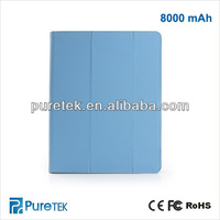 New different capacity available battery Universal leather case for ipad 2 3 4