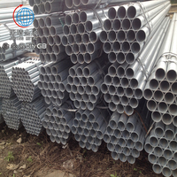Factory Directly Galvanized Wrought Iron Steel Round Pipe Tube