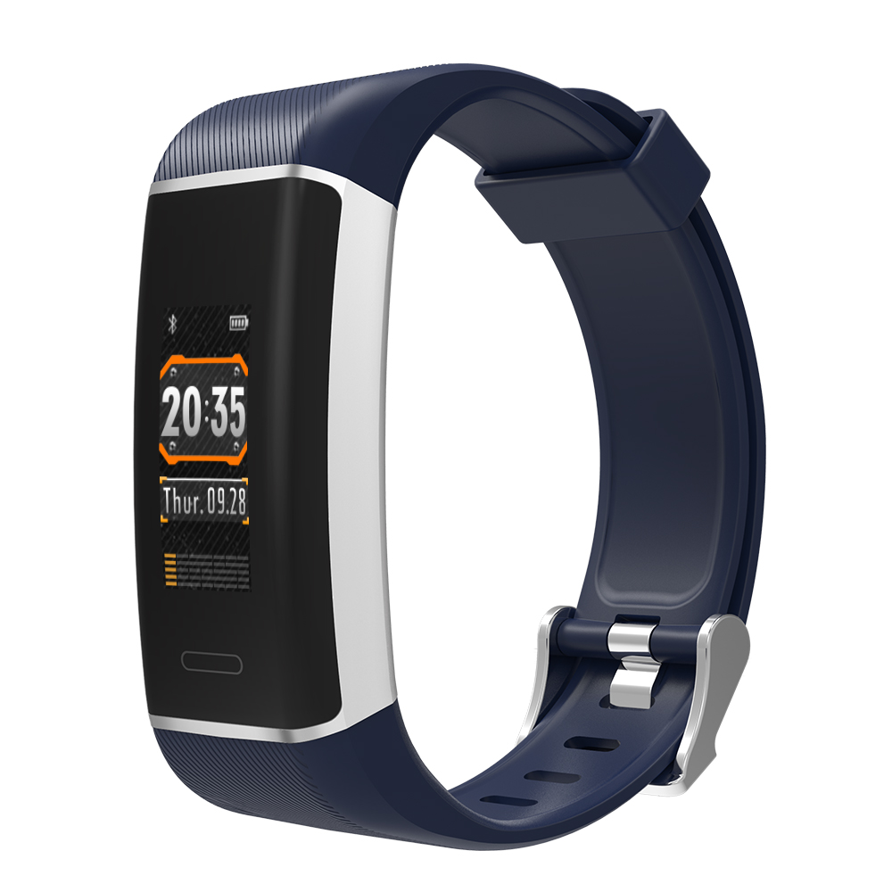 Blood Pressure Monitor Fitness Tracker <strong>D12</strong> Bluetooth Smart Watch Heart Rate
