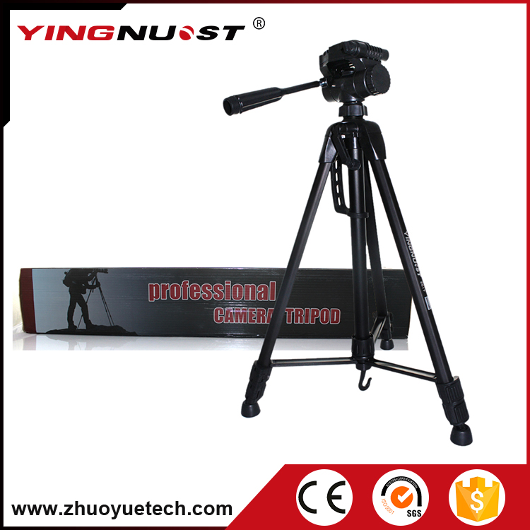 2017 New China Hot Product Yingnuost Aluminum Alloy Movable Heavy Duty Camera Professional Hunting Tripod Stand