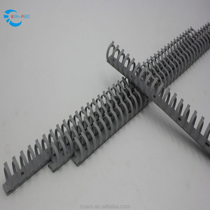 Chinese Supplier High temperature Flexible Electrical PVC Solid 50mmmetal wire duct