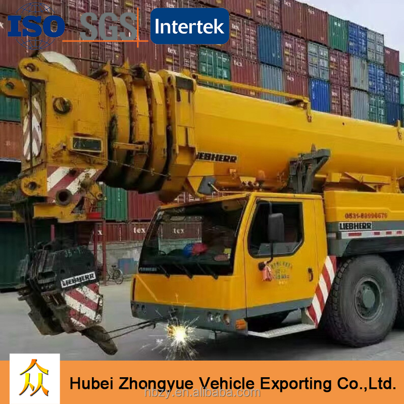 Cheap Price Second-hand Used Liebherr 400 ton Truck Crane LTM1400 for sale