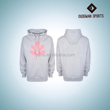 China supplier YONO branded OEM ODM poly cotton pullover hoodie