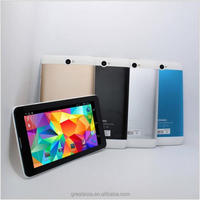 "7"" Android tablet 4.2 Dual Sim Bluetooth Cell Phone Tablet PC MTK6572 WIFI 512M/4G Resolution 1024*600"