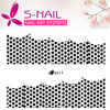 2016wedding nail sticker /Fashion ultrathin lace nail sticker /Custom nail art accessory