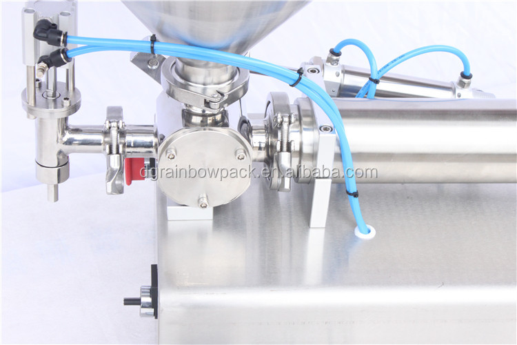 Factory price pneumatic table top cosmetic cream filling machine