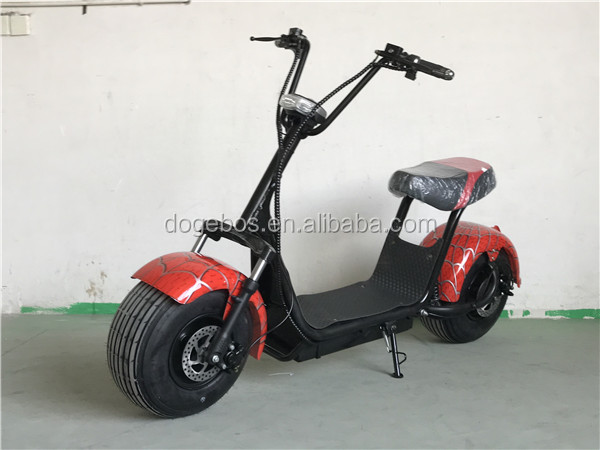 1000W two wheel citycoco electric double seat mobility scooter ML-SC03