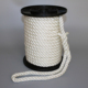 High tensile strength white color 3 strand 18mm 20 mm twisted Polyester Rope PET Rope