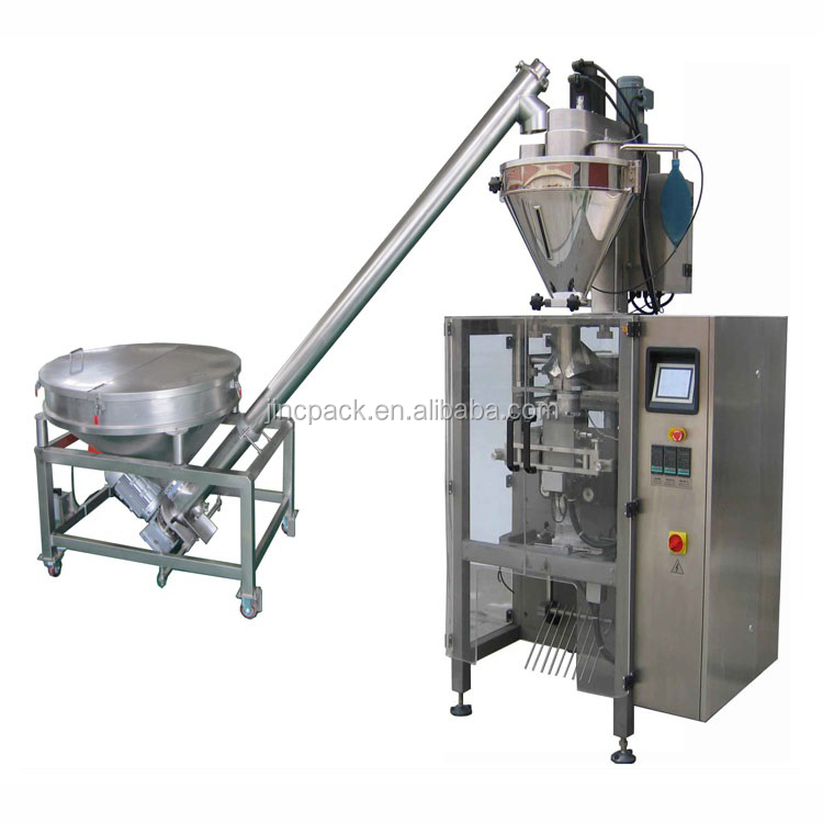 Screw feeder 1kg bag packing machine vertical packaging machine bagging machine