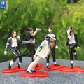 custom make memorial 5inch MJ pvc figures for souvenir