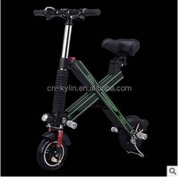 2 wheel one second folding elctric scooter balance electric scooter