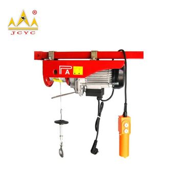 Lifting Tools Mini Electric Hoist With Pivot Arm