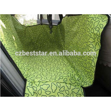 Dog Auto Travel Back Seat Pet Hammock Easy- Fit Seat Cover, Large,green