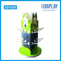 wholesale cute small 4-sided rotating display racks for key chains
