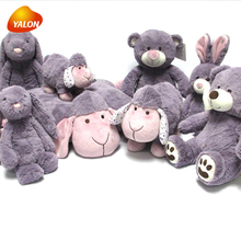Different types soft custom plush stuffed toys for gift or promotion