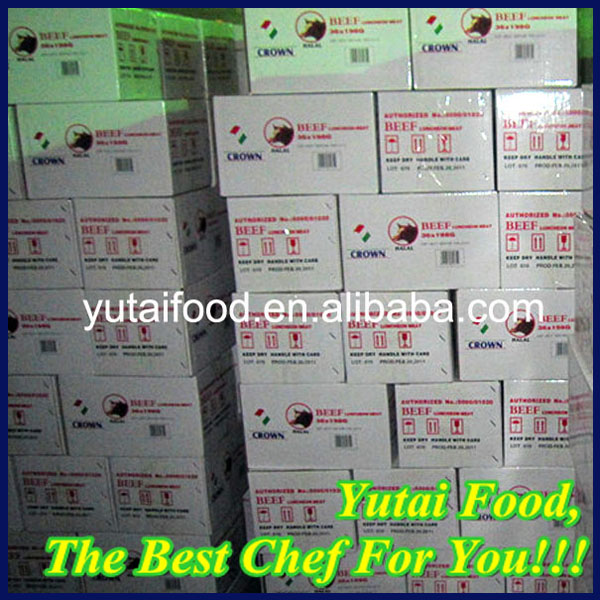 Beef Products in Can Manufacturer