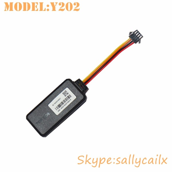 Motorcycle car bike GPS Tracker Vehicle ignition cut off Y202 support web tracking track by app