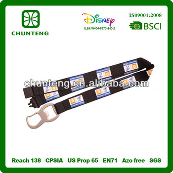 hot sell custom good quality special opener lanyard /neck lace