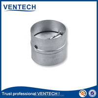 Neck size 100mm round duct systems air volume control damper