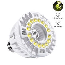 5 years warranty uniform light E26 27 hydroponic led grow light lamps