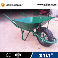 popular construction wheelbarrow WB6400 with solid or air wheel