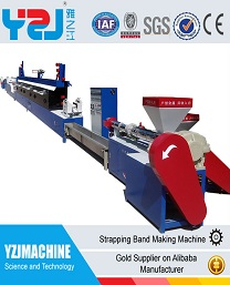 Good performancepet/pp packing strap extrusion line and packing strap production machine for sale