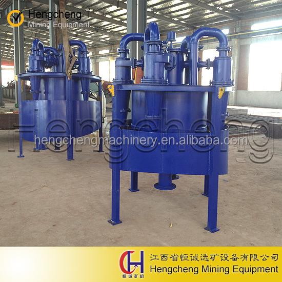 alluvial gold mining washing plant equipment Small Cyclone Separator