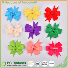STOCK 3inch grosgrain baby hair bows for Children hair accessories