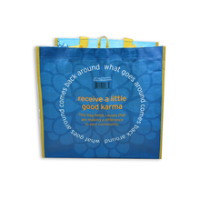 Disposable customized plastic shopping bag