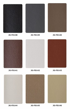 Environmental Embossed Microfiber leather for sofa bed, furniture, chair in white, black, yellow, pink, coffee color