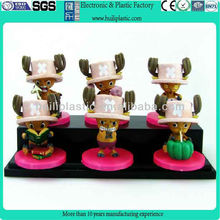 Cute action pvc plastic figure toys of customized design