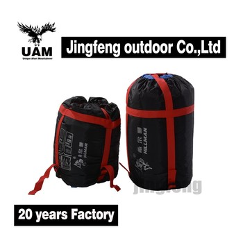 OEM logo printed wholesale 3 season sleeping bag