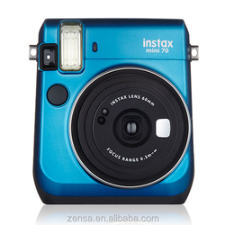 Fujifilm Instax Mini 70 Instant Polaroid Photo Film Fuji Camera - Island Blue