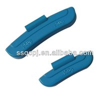 colouful rim weight/motorcycle clip on wheel weight