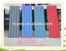 Big wave Fireproof Color coated Good sell high quality eco-friendly Magnesium oxide roof tiles