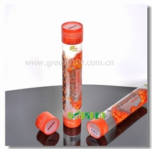 Small order Printing PVC Tubes Packaging Gift Cylinder