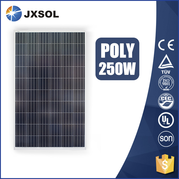 TUV approved cheap price 250w poly solar panel high efficiency pv module