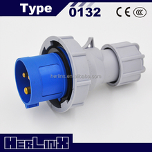 electric power plug CEE 16a 3-pin cee industrial plug and socket