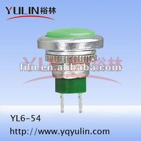 12v temperature voltage selector sealed push button switch YL6-54